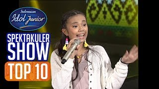 JOA - AMPAR-AMPAR PISANG (Henny Purwonegoro) - TOP 10 - Indonesian Idol Junior 2018
