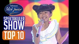 LIFIA - JALI-JALI (M. Sagi) - TOP 10 - Indonesian Idol Junior 2018
