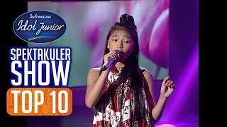 ANNETH - O INA NI KEKE (Anneke Gronloh) - TOP 10 - Indonesian Idol Junior 2018