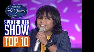 GOGO - ANAK MEDAN (Trio Axido) - TOP 10 - Indonesian Idol Junior 2018