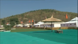 PM Shri Narendra Modi visits Valley of Flowers & Tent City in Kevadia, Gujarat