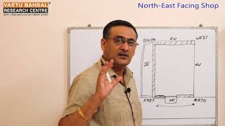 North East Facing  ईशान दिशा  Cosmetic Shop Vastu Tips   Vastu Bansal   Dr  Rajender Bansal