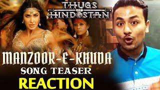 Manzoor-e-Khuda Song Teaser REACTION | Aamir Khan, Katrina Kaif, Fatima