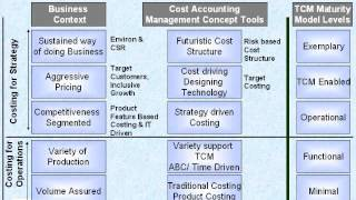 TCM Maturity Model