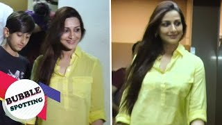 Sonali Bendre and Goldie Behl Spotted at PVR Juhu