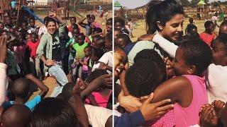 Priyanka Chopra Teaches Desi Thumkas To Underprivileged Kids Of Africa