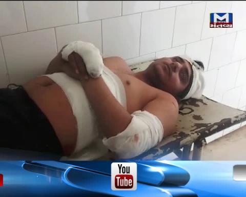 Bhavnagar: A man has been attacked in Moti Talav Area | Mantavya News