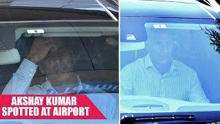 Akshay Kumar Spotted at Mumbai Airport