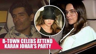 Karan Johar Parties With Gauri Khan, Manish Malhotra, Neha Dhupia and Others