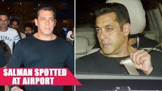 Salman Khan Returns From IIFA Nominations