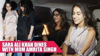 Sara Ali Khan Goes On A Dinner Date With Mom Amrita Singh
