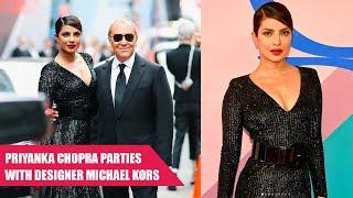 Priyanka Chopra Looks Sizzling HOT In Black Michael Kors Gown