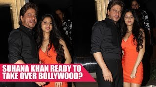 Shah Rukh Khan's Daughter Suhana Steals The Limelight at Gauri Khan's Restaurant Launch