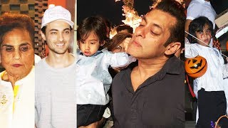 Star Kids At Arpita Khans Halloween Party For Ahil | Salman Khan's Nephew