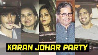 Bollywood Celebs At Karan Johars Halloween Party 2018