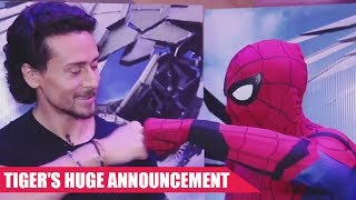 Tiger Shroff Dubs For Spider-Man: Homecoming