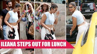 Ileana D'Cruz Spotted At Nido In Bandra