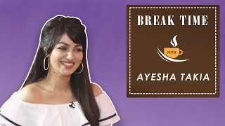Break Time - Ayesha Reveals The Name Of Actor Whom She Wishes to Work Next With