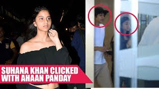 Suhana Khan Clicked With Ahaan Panday At Tubelight's Screening