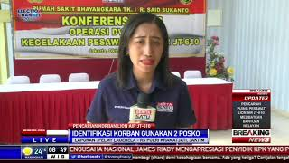 53 Kantong Jenazah Tiba di RS Polri Kramat Jati