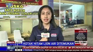 Kamis Pagi, 56 Kantong Jenazah Korban Lion Diterima RS Polri