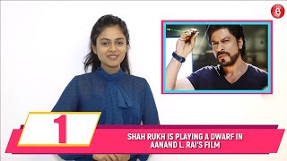 Here's How Shah Rukh Khan Will Achieve His 'Dwarf' Look For Aanand L Rai's Next | Bubble Bulletin