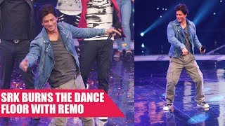 Shah Rukh Khan On The Sets Of Dance Plus Season 3