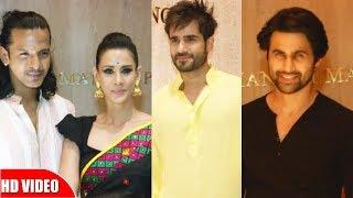 Celebs Attend Party At Manish Malhotra House | Karan Tacker, Freddy Daruwala
