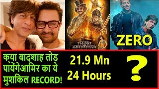 Will ZERO Able To Break Thugs Of Hindostan Trailer Views Record On Youtube In 24 Hours?