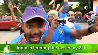 India vs West Indies: Fans hopeful of India's victory in final match