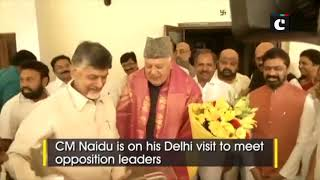 AP CM Chandrababu Naidu meets Sharad Pawar, Farooq Abdullah