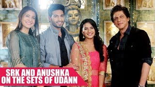 Shah Rukh Khan and Anushka Sharma On The Sets of Udann To Promote Jab Harry Met Sejal