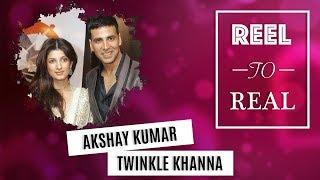 #ReelToReal: Akshay Kumar and Twinkle Khanna's Love Story