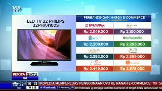 Perbandingan Harga e-Commerce: LED TV 32 Philips 32PHA4100S