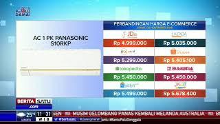 Perbandingan Harga e-Commerce: AC 1 PK Panasonic S10RKP