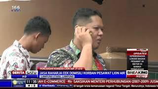 Jasa Raharja Cek Domisili Korban Pesawat Lion Air