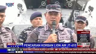 450 Personel TNI AL dan 115 Penyelam Dikerahkan Mencari Korban JT-610