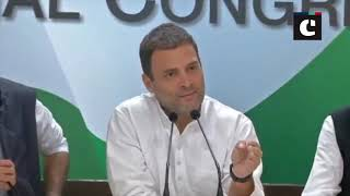 Rafale deal- Dassault CEO is lying, says Rahul Gandhi
