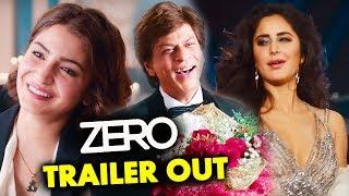 ZERO Trailer Out | Shah Rukh Khan | Anushka | Katrina  Aanand L Rai