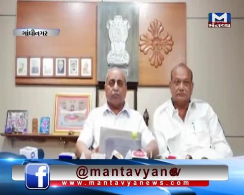 Gujarat Deputy CM Nitin Patel's Press Conference   Mantavya News