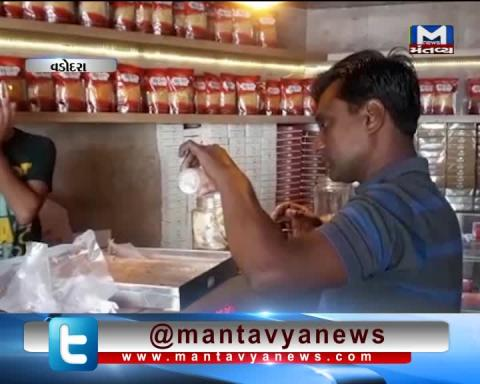 Vadodara: Health Department raid on Sweets Shops | Mantavya News
