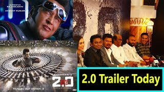 2.0 Trailer Releasing Today At 12 Pm I How Excited Are You I #2Point0Trailer