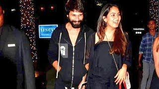 Shahid Kapoor And Mira Rajput On LATE NIGHT DINNER DATE