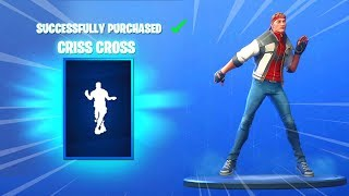 *NEW* CRISS CROSS EMOTE AND SKINS (Fortnite Item Shop November 2) - CRISS CROSS EMOTE