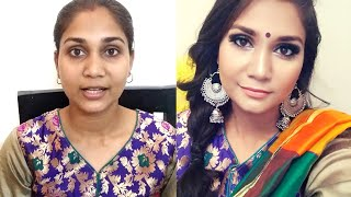 Glam Festive/Bridal Makeup using Affordable Makeup Rs. 60 to Rs. 499 | Nidhi Katiyar