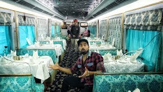 India's Rs. 5lakh  Luxury Train Ride | Expensive Train Ever????