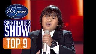 GOGO - TITIP RINDU BUAT AYAH (Ebit G. Ade) - TOP 9 - Indonesian Idol Junior 2018