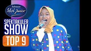 MIRAI - PERGI KE BULAN (Tetty Kadi) - TOP 9 - Indonesian Idol Junior 2018