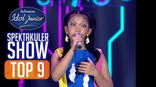 PUTRI - PERSAHABATAN (Sherina Munaf) - TOP 9 - Indonesian Idol Junior 2018