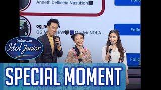 Instagram Anneth di follow Keyshia Cole! - TOP 9 - Indonesian Idol Junior 2018